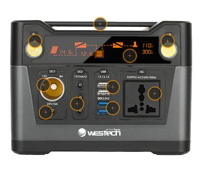 Sunbase-smart300 Vorderseite